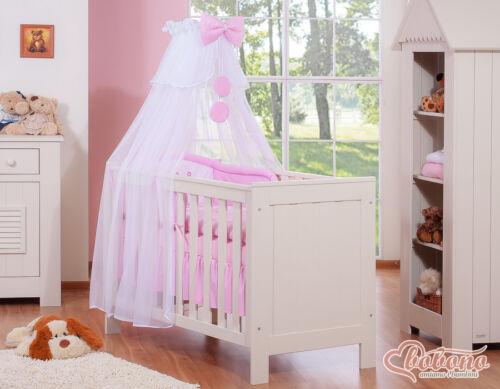 Bobono Bettset Little Prince Princess Prinz Prinzessin 7tlg mit Himmelstange