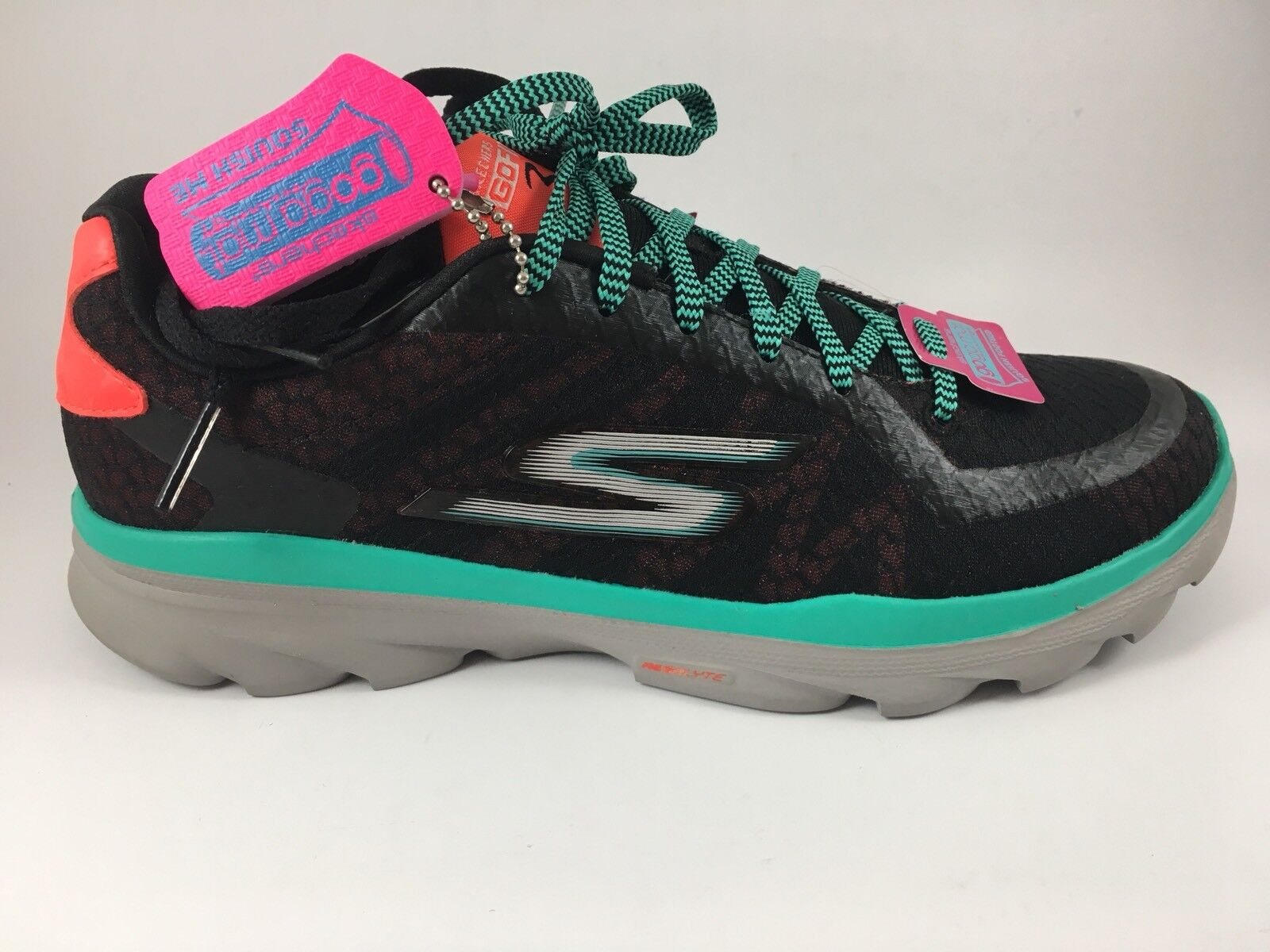 Price reduction RIGHT SHOE ONLY Sketchers Ladies 6.5 Black Teal GoFit3 GogaMat AMPUTEE The latest discount shoes for men and women