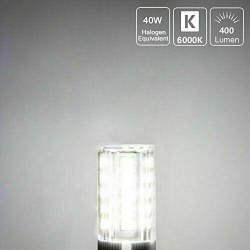 1-10X G9 LED Light Bulbs 3W 30W Halogen Equivalent 64LEDS 3000K lot Corn Bulb