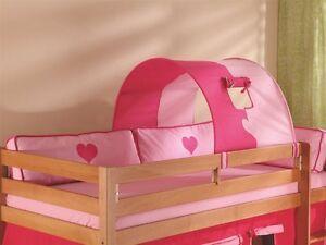 Etagenbett Rosa : Etagenbett hello kitty rosa weiß mit vorhang und lattenroste
