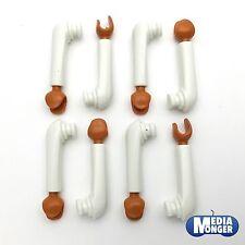 playmobil® 4 Paar Arme weiss | hellbraun | Ägypter | Araber | Römer | Piraten