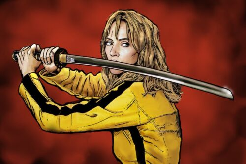 KILL BILL THE BRIDE 36 X 24 POSTER