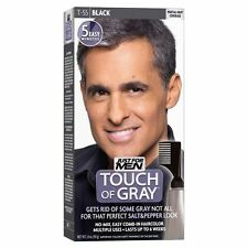 Just For Men Touch of Grey Black Gray T55 Mens Hair Colour Dye Semi Permanent