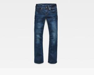Ladies-G-Star-Raw-Midge-Saddle-Bootleg-Dark-Aged-Jeans-Trouser-RRP-80