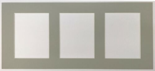 PICTURE PHOTO FRAME h7 with Multi Mount Apertures to hold 3 = 7 X 5 Pouces images