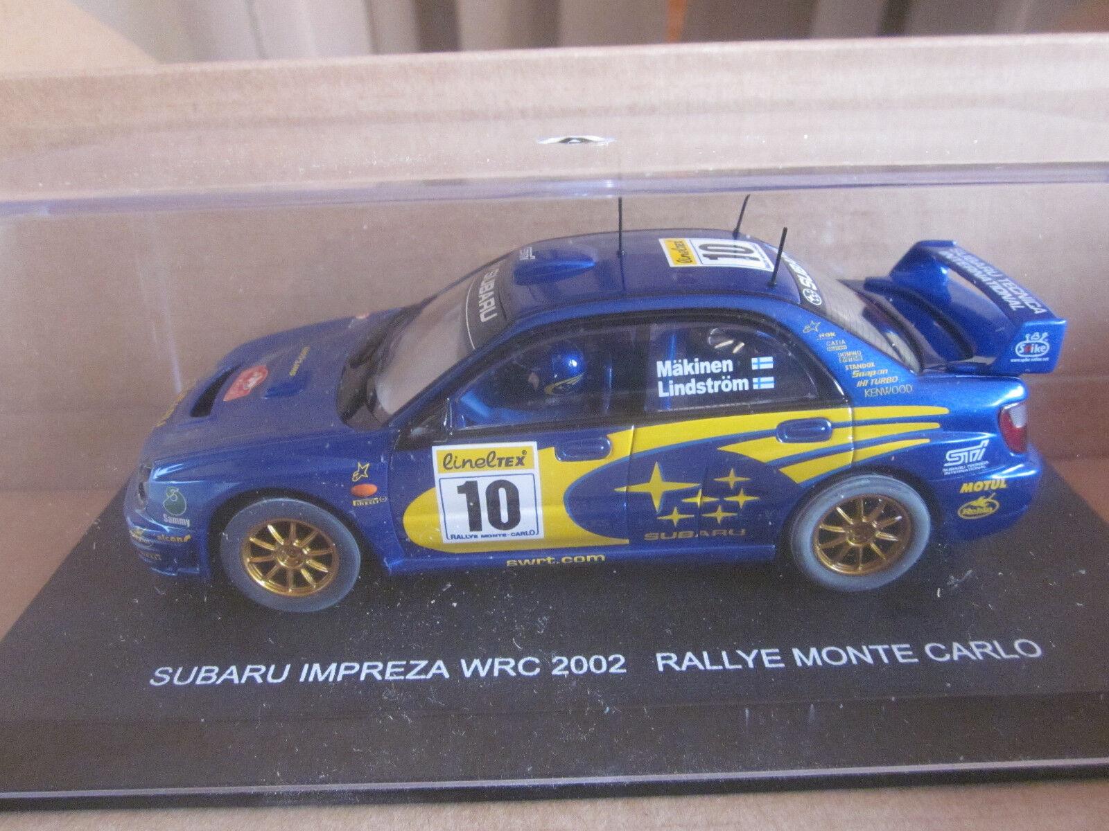 Auto Art 80292 Subaru Impreza  WRC 2002 Monte autolo Slotauto Nuovo + Conf. Orig.  acquista marca