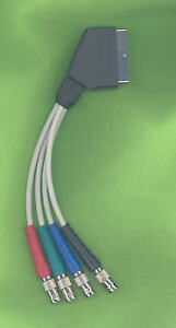 BESTLINE-Scart-Plug-to-4-x-BNC-Connector-RGB-and-Composite-0-2m