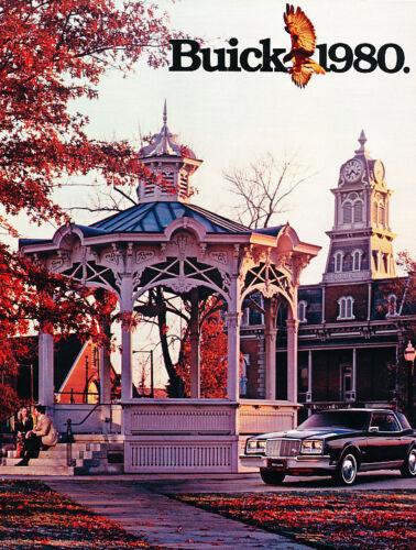 1980 Buick Sales Brochure Book Electra Riviera Regal