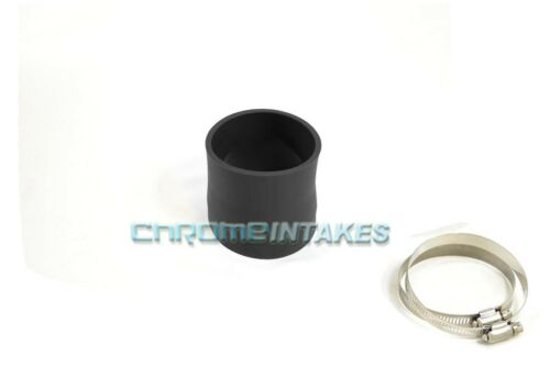 """BLACK 3.75/""""-4/"""" AIR INTAKE//PIPING RUBBER REDUCER COUPLER FOR MERCEDES-BENZ 2"""