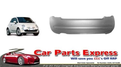FIAT 500 REAR BUMPER 2008 PAINTED ANY COLOUR