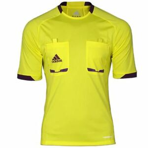 Caricamento dell immagine in corso Adidas-Arbitro-2012-TAGLIA-S-XL-Camicia- Giallo- 0afb946fc229