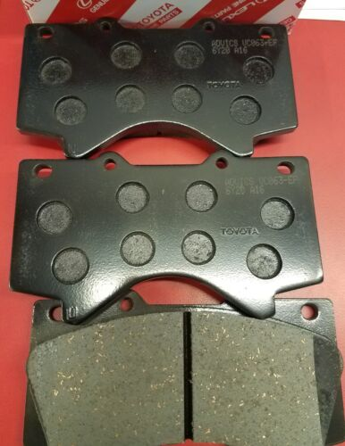 04465-AZ120 07 08 09 10 11 12 13 14 15 16 2017 Tundra Front Genuine Brake Pads