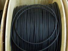 Encendido Ht De Silicona Negro 7MM suprimido núcleo de carbono Plomo Cable X 1 metros