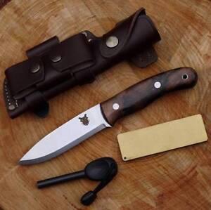 Tbs Boar Bushcraft Knife Dc4 Firesteel Edition Stainless