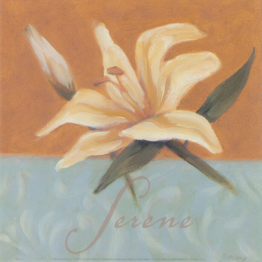 3D White Lilies Painting 27 Wall Paper Wall Print Decal Wall  AJ Wall Paper