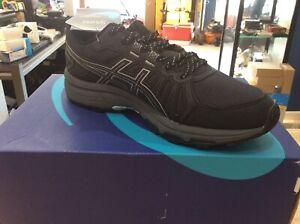 ASICS-Women-039-s-Gel-Venture-7-Running-Shoes-8-5-Black-Piedmont-Grey-NEW