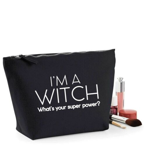 Witch Funny Friend Gift Women/'s Make Up Makeup Accessory Bag