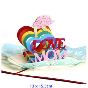 I-Love-Mom-3D-Pop-Up-Greeting-Cards-Children-Mother-Day-Birthday-With-Envelope