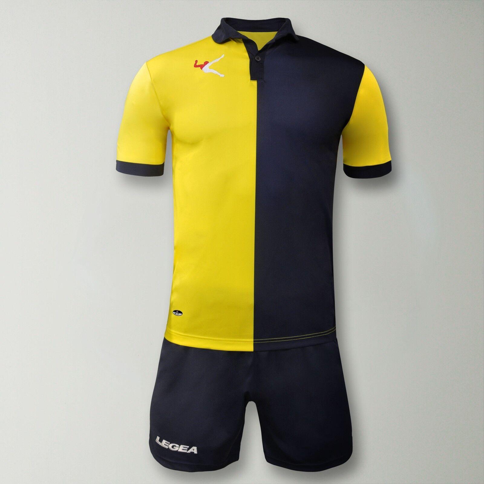 10er Trikotsatz Legea Sardegna Gold Fußball Trikot Trikot Trikot &Hose 3XS 2XS XS S M L XL  | Attraktive Mode  cd255e