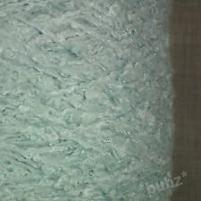 SUPER SOFT ARAN WEIGHT BOUCLE YARN BABY BLUE 750g CONE 15 BALLS POODLE KNITTING
