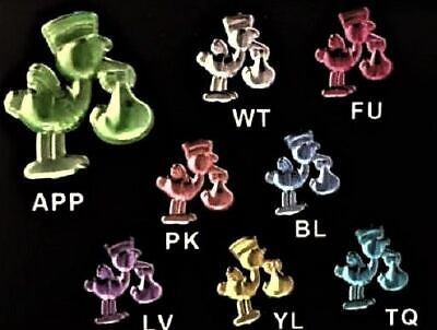Baby Shower Feet Embellishment Favors Acrylic Charm Confetti Craft Gift Spread
