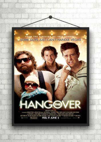 The Hangover Classic Movie Poster Art Print A0 A1 A2 A3 A4 Maxi