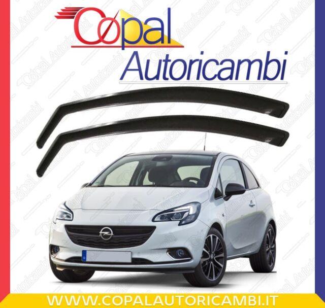 Deflettori Aria Per Opel Corsa D E 3 Porte dal 2004> in poi Antiveto Fumè 12514