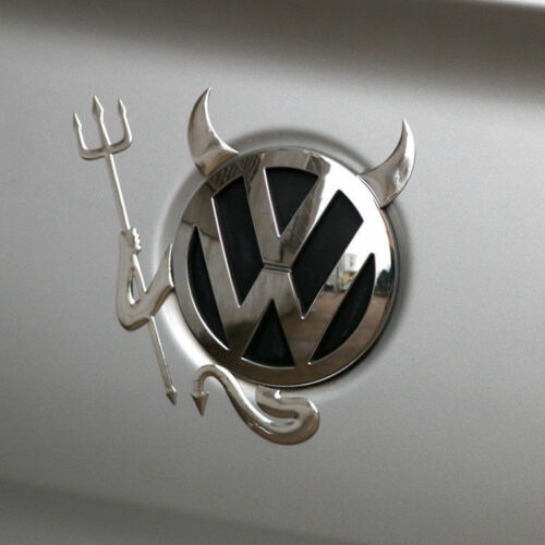 Funny PVC 3D Devil Car Custom Demon Stickers Decals For VW Volkswagen New Style