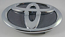 09-13 Toyota COROLLA Front Grille Badge Hood Emblem Black + Chrome #75312-02050