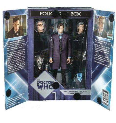 """Le temps de Doctor Who 11th jeune vieux 12th Dr Poignées Cyberman 5/"""" Set Figure"""