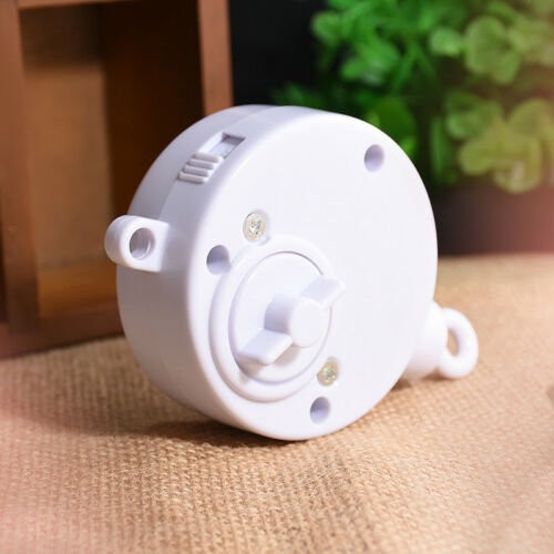 Rotary Baby Mobile Crib Bed Toy Clockwork Movement Music Box Kids Bedding Toy XJ