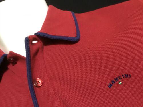 "Mancini  Medium  Chest Measures 42""  Grape Homer Polo Shirt  RRP £89.99"