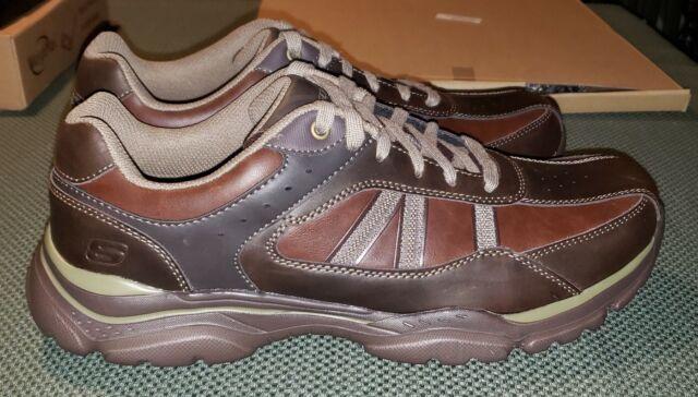 Texon Chocolate Skechers Sneakers Size