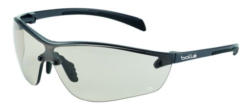Bolle Safety Glasses SILIUM /& SILIUM Anti-scratch Anti-fog Clear Smoke CSP Lens