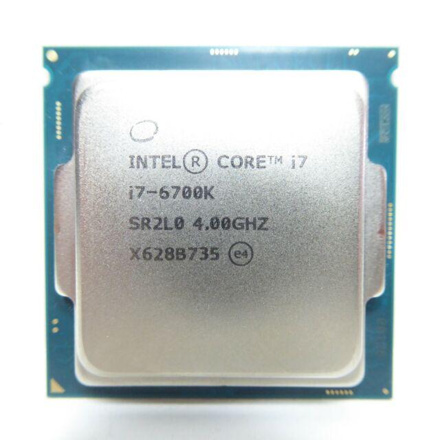 (Open Box) Intel Core i7-6700K 4.0 GHz Quad-Core (BX80662I76700K) Processor