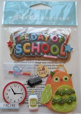 JOLEE's Scrapbooking 3D Sticker ~ 1ST DAY OF SCHOOL ~ SCHULANFANG ~ 1. SCHULTAG
