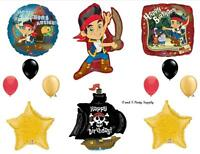 Jake And The Neverland Pirates Happy Birthday Balloons Decorations Supplies Ship