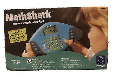 MATHSHARK Educational Insights EI-8490 Learning game ...