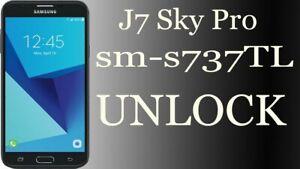 Details about Samsung J7 SKY PRO TRACFONE Wireless S737TL SIM UNLOCK  INSTANT USB Remote UNLOCK