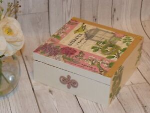 Details About Wedding Memory Box Mother Day Gift Wooden Keepsake Box Jewellery Box