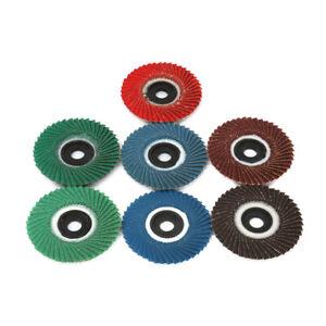 4 Inch Flap Grinding Sanding Angle Grinder Wheel Sand Paper Disc Grit 320 10Pcs