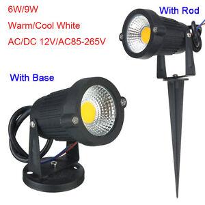 6w 9w cob led landscape garden path flood spot light lamp - Spot led ip65 12v ...
