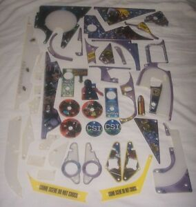 New-Stern-CSI-Pinball-Machine-Plastic-Set-803-5000-A2-Free-Shipping