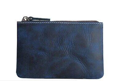 BleuMoo Mens Wallet Leather Wallet Credit ID Card Holder Slim Purse