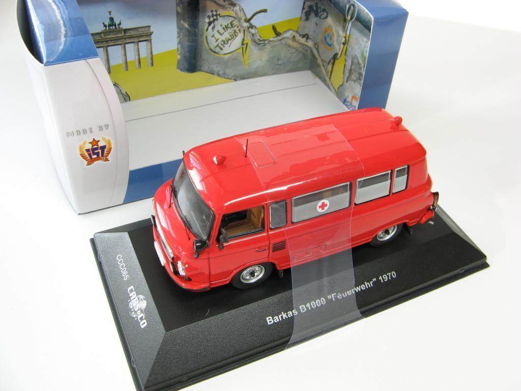 BARKAS B1000  Feuerwher  1970 1 43 CARS&CO