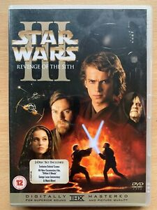 Star Wars Revenge Of The Sith Dvd Episode Iii 3 2 Disc Special Edition 5039036023238 Ebay