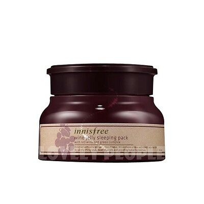 Innisfree Red Wine and Green Complex Wine Jelly Sleeping Pack 80ml