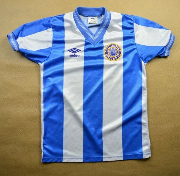 Umbro 1987-88 COLCHESTER UNITED KOSZULKA SIZE 30-32 Shirt Jersey Jersey Jersey Kit 92239f