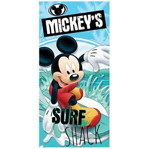 Serviette Rouge 70x140 Mickey Disney