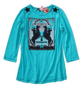 Western Tunique Nuova Rodeo S Con Cavallo Turchese Etichetta Donna HHxqCwF81